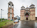 New Belgrade church of St. Simeon the Myrrh-Gushing<br /> <br /> Novi Beograd, Serbia