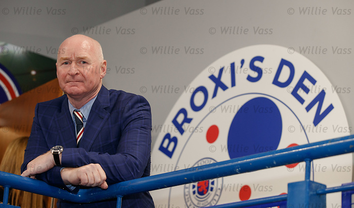 John Bomber Brown at the opening of Broxi's Den