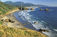 Cannon Beach from Ecola State Park, Oregon