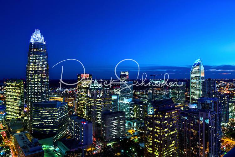 Photography of the Charlotte North Carolina skyline.<br /> <br /> <br /> Charlotte Photographer - PatrickSchneiderPhoto.com