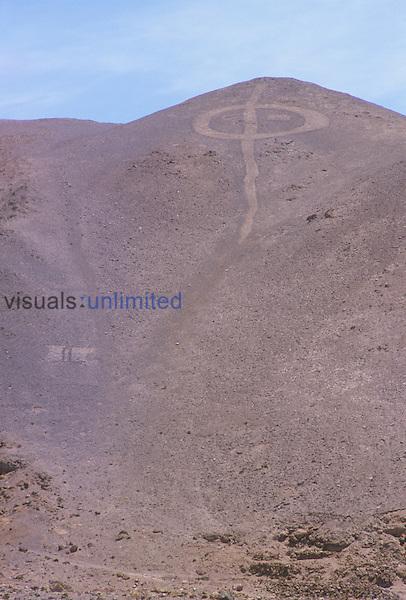 Pintados Geoglyph, Atacama Desert, Chile.