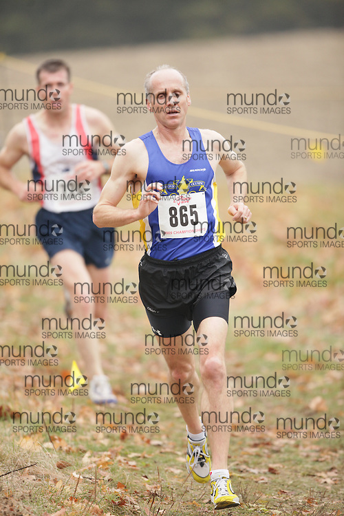 King City, Ontario ---09-11-15--- Mike Sherar of the toronto olympic club competes at the Athletics Ontario Cross Country Championships in King City, Ontario, November 16, 2009..GEOFF ROBINS Mundo Sport Images