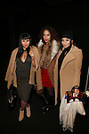 Latin Bloggers Rebecca Torres, Ada Rojas and Hiliana Devila Depart NYFW Fall 2016 DESIGUAL Fashion Show