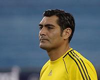 FC Dallas goalkeeper Dario Sala (44).  The New England Revolution drew FC Dallas 1-1, at Gillette Stadium on May 1, 2010