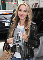 NEW YORK, NY - SEPTEMBER 27:  Motivational speaker and author Gabrielle Bernstein spotted leaving SiriusXM studios where she promoted her book 'The Universe Has  Your Back' in New York, New York on September 27, 2016.  Photo Credit: Rainmaker Photo/MediaPunch