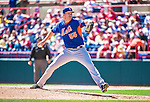 13 March 2014: New York Mets pitcher Noah Syndergaard on the mound during a Spring Training game against the Washington Nationals at Space Coast Stadium in Viera, Florida. The Mets defeated the Nationals 7-5 in Grapefruit League play. Mandatory Credit: Ed Wolfstein Photo *** RAW (NEF) Image File Available ***