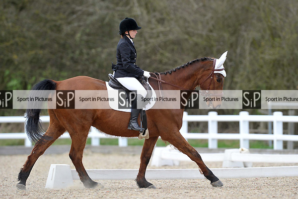 Class 6. Novice 28. Unaffiliated dressage. Brook Farm Training Centre. Essex. 19/03/2017. MANDATORY Credit Garry Bowden/Sportinpictures - NO UNAUTHORISED USE - 07837 394578