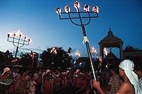 Sri Lanka. The Nallur Kandaswamy Kovil Chariot festival. Jaffna. ..2004
