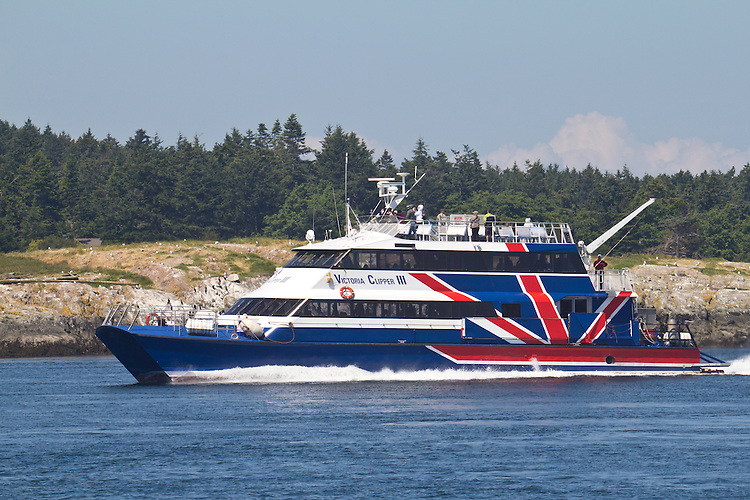 Ferry Victoria San Juan Islands Seattle