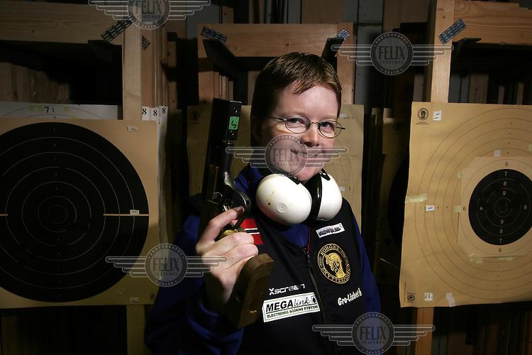 pistolskytter Gro-Lisbeth Nilsen