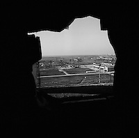 Chernobyl, Ukraine, Ocober 1995..The explosion at the Chernobyl Nuclear Power Plant on April 26 1986 was the worst nuclear accident in history..The sarcophagus which encloses the ruins of Reactor No 4 has huge holes which allow radiation to escape into the surrounding countryside..