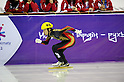 Takahiro Fujimoto (JPN), FEBRUARY 1, 2011 - Short Track : the men's 500m short track skating preliminaries during the 7th Asian Winter Games in Astana, Kazakhstan. (Photo by AFLO) [0006]..