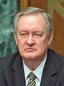 United States Senator Mike Crapo (Republican of Idaho) during the US Senate Committee on Banking, Housing, and Urban Affairs confirmation hearing on the nomination of Dr. Benjamin Carson to be Secretary of Housing and Urban Development (HUD) on Capitol Hill in Washington, DC on Thursday, January 12, 2017.<br /> Credit: Ron Sachs / CNP