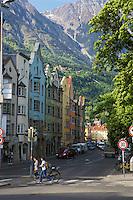 Old buildings, Nordkette Mountain, Innsbruck Austria
