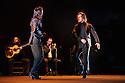 London, UK. 23.02.2016. Brothers, Farruquito (Juan Manuel Fernandez Montoya 'Farruquito') & Farruco present BUEN ARATE, at Sadler's Wells, as part of the London Flamenco Festival 2016. Picture shows: Farruquito & Farruco. Photograph © Jane Hobson.
