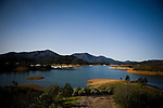 A view of Shasta Lake that know dams the McCloud River in the Winnemem traditional area in Jones Valley, March 17, 2010.