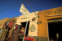 The cheap shop in town. Bahariya Oasis, Egypt.