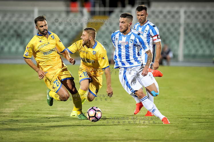 Biraghi Cristiano (PESCARA) during the Italian Cup - TIM CUP -match between Pescara vs Frosinone, on August 13, 2016. Photo: Adamo Di Loreto/BuenaVista*photo