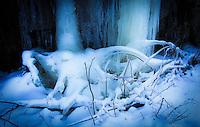 &quot;LUMINOSITY-2&quot;<br /> <br /> Light from above creates a luminous effect on the ice laden laden landscape.