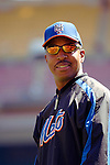 11 April 2006: Willie Randolph, Manager of the New York Mets, during batting practice prior to the Washington Nationals' Home Opener at RFK Stadium, in Washington, DC. The Mets defeated the Nationals 7-1 to maintain their lead in the NL East...Mandatory Photo Credit: Ed Wolfstein Photo..