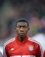 FUSSBALL   CHAMPIONS LEAGUE   SAISON 2013/2014   Vorrunde FC Bayern Muenchen - ZSKA Moskau       17.09.2013 David Alaba (FC Bayern Muenchen)