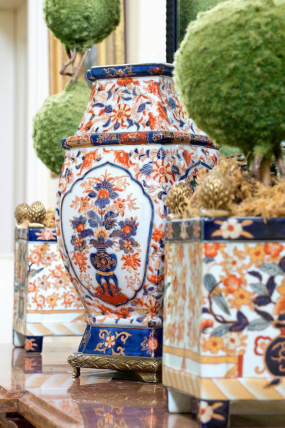 Classic porcelain vases
