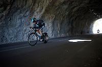 Wout Poels (NLD/SKY)<br /> <br /> stage 13 (ITT): Bourg-Saint-Andeol - Le Caverne de Pont (37.5km)<br /> 103rd Tour de France 2016
