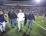 Ole Miss head coach Houston Nutt vs. Louisiana Tech in Oxford, Miss. on Saturday, November 12, 2011. Louisiana Tech won 27-7.