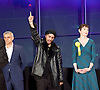 Mayor of London and London Assembly results announcement at City Hall, London, Great Britain <br /> 6th May 2016 <br /> <br /> <br /> <br /> Sadiq Khan - Labour <br /> <br /> Ankit Love - One Love Party<br /> <br /> Caroline Pidgeon - Lib Dems<br /> <br /> The winner was Sadiq Khan who is appointed the new mayor of London <br /> <br /> <br /> <br /> Photograph by Elliott Franks <br /> Image licensed to Elliott Franks Photography Services