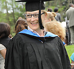 Meryl Streep, a Vassar College Trustee, at Vassar's Commencement, May 23, 2010