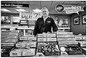 Employee of Ester Price Fine Chocolate, Dayton Ohio. A local favorite for nearly 85 years.