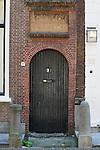 A front door in Leiden, Holland
