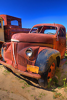 Rusted Vintage Studebaker Truck - Motor Transport Museum - Campo, CA