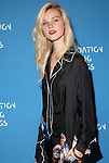 Alexa Reynen Wearing Vionnet Foundation Fighting Blindness World Gala Held at Cipriani downtown located at 25 Broadway