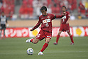Takeshi Aoki, (Antlers), April 23rd, 2011 - Football : 2011 J.LEAGUE Division 1, 7th Sec match between Kashima Antlers 0-3 Yokohama Marinos at National Stadium, Tokyo, Japan. The J.League resumed on Saturday 23rd April after a six week enforced break following the March 11th Tohoku Earthquake and Tsunami. All games kicked off in the daytime in order to save electricity and title favourites Kashima Antlers are still unable to use their home stadium which was damaged by the quake. Velgata Sendai, from Miyagi, which was hard hit by the tsunami came from behind for an emotional 2-1 victory away to Kawasaki. (Photo by Akihiro Sugimoto/AFLO SPORT) [1080].