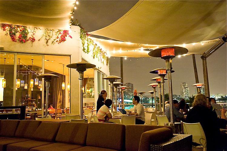 Fuego Restaurant At Maya Hotel Long Beach
