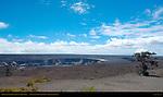 Halemau'mau pit crater, Kilauea summit caldera, Hawaii Volcanoes National Park, Big Island of Hawaii