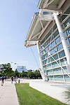Gerald Ratner Athletics Center, Architecture of the University of Chicago campus, Chicago, Illinois, IL, USA