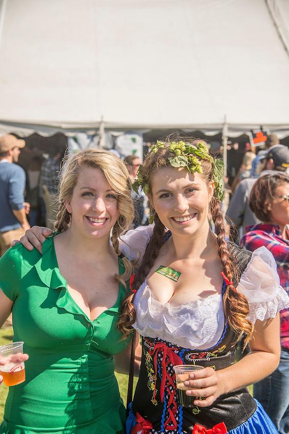 Upper Peninsula Fall Beer Fest in Marquette, Michigan.