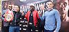 Floyd Mayweather Jr &amp; Frank Warren press conference at The Savoy Hotel, London, Great Britain <br /> 7th March 2017 <br /> <br /> <br /> Leonard Ellerbe <br /> (CEO of Mayweather Promotions)<br /> <br /> Gervonta Davis <br /> (an American professional boxer who has held the IBF junior lightweight title since January 2017)<br /> <br /> <br /> Floyd Joy Mayweather Jr. is an American former professional boxer who competed from 1996 to 2015 and currently works as a boxing promoter. <br /> <br /> Frank Warren <br /> Boxing Promoter <br /> 