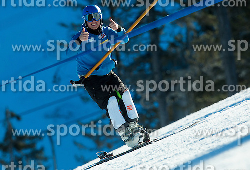 Crt Ikovic during training of Snowboarding Team Slovenia prior to the 2015 FIS Freestyle Ski and Snowboard World Championships in Kreischberg (AUT) on January 13, 2015 in Rogla, Slovenia. Photo by Vid Ponikvar / Sportida