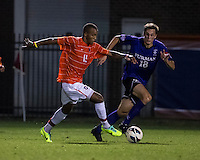 The number 24 ranked Furman Paladins took on the number 20 ranked Clemson Tigers in an inter-conference game at Clemson's Riggs Field.  Furman defeated Clemson 2-1.  Alexandra Rome'o Happi (15), Michael Gandier (18)