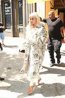 NEW YORK, NY - September 7: Kylie Jenner seen leaving Cipriani Soho on September 7, 2016 in New York City. Credit: DC/Media Punch