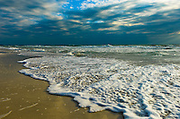 Rough seas at Anna Maria Island in Southern Florida.