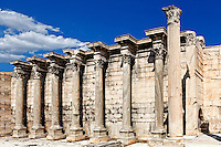 Library of Hadrian (132 A.D.) in Athens, Greece