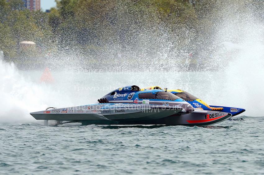 "Mathew Daoust, GP-9 and Martin Rochon, GP-77 ""Coppertone Sport"" (Grand Prix Hydroplane(s)"