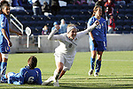 27 November 2010: Amy Rodriguez (USA) (8) celebrates scoring a goal. The United States Women's National Team defeated the Italy Women's National Team 1-0 in the second leg of their 2011 FIFA Women's World Cup Qualifier playoff at Toyota Park in Bridgeview, Illinois. The U.S. won the series 2-0 on aggregate goals to advance.