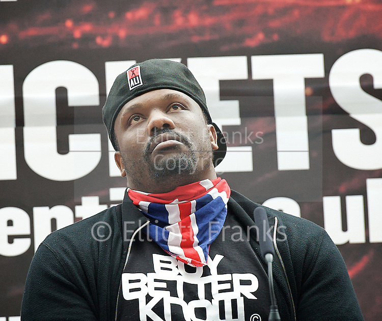 Haye vs Chisora<br />