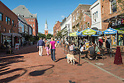 Burlington, Vermont. Church Street Marketplace