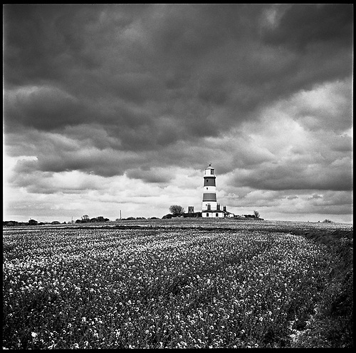 Happisburgh Lighthouse IV, Norfolk 2013 by Paul Cooklin